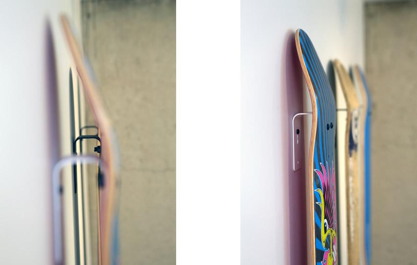 Skateboard Wall Mount Skateboard Wall Mount  Dmount Bracketkilterdesign